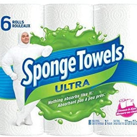 Image of Sponge Towel Select-A-Size 6 Roll Pack