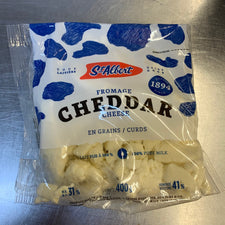Image of St Albert White Cheese Curd 400g