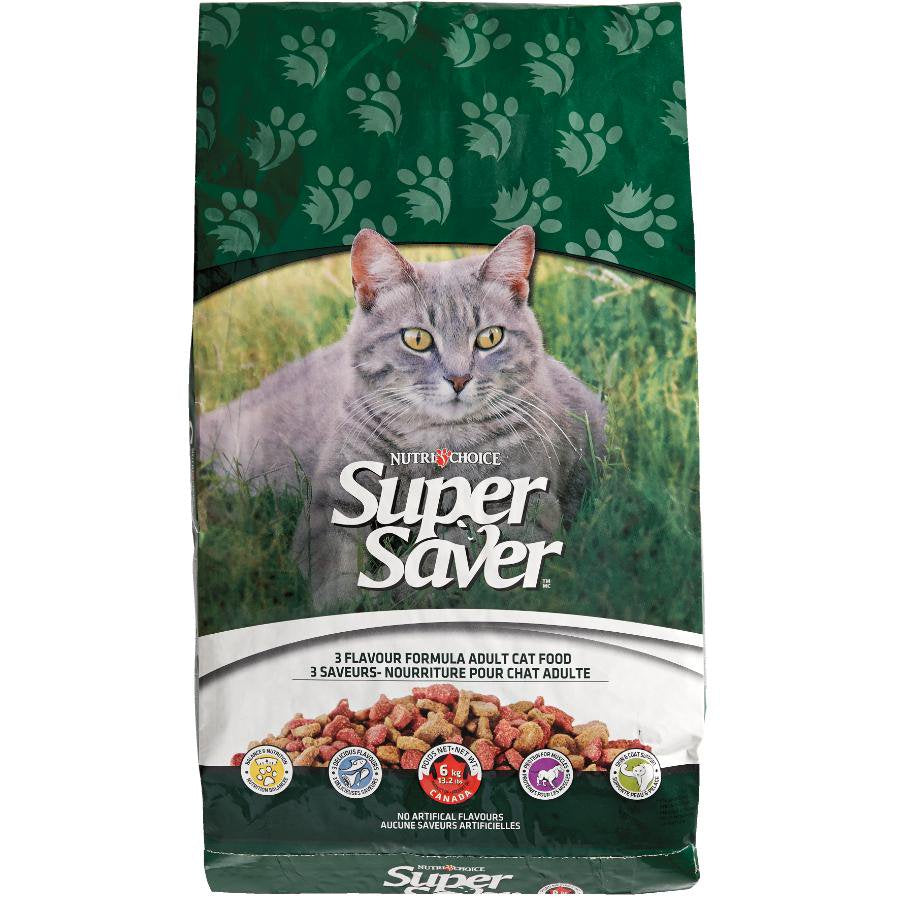 Super Saver Cat 3 Flavour 6Kg