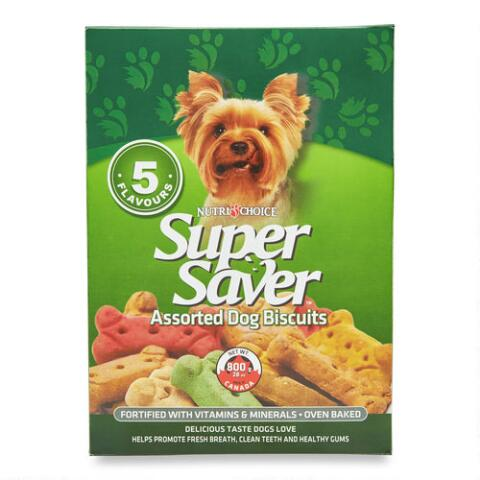 Super Saver 5 Flavour Biscuits 800 G