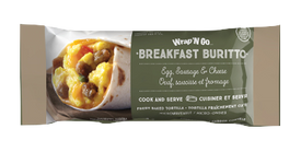 Image of Wrap 'N Go Burrito Egg Cheese Sausage 113 G