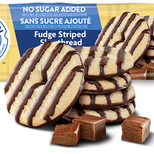 Image of Voortman No Sugar Added Fudge Shortbread Cookies 320g