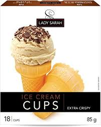 Lady Sarah Ice Cream Cups 18 Pack