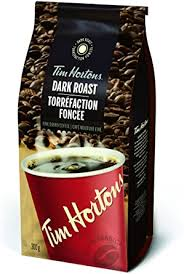 Tim Hortons Dark Roast Fine Ground Coffee 300g