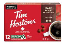Image of Tim Hortons Dark Roast Coffee K Cup 126 G