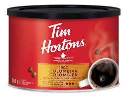 Tim Hortons 100% Colombian Grind Coffee 640 G