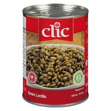 Image of Clic Green Lentils 540 ML