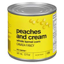 No Name Peaches And Cream Corn 341 ML