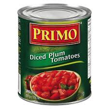 Image of Primo Diced Plum Tomatoes 28OZ.