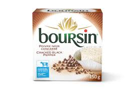 Boursin French Cheese Pepper 150 G