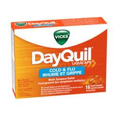 Vicks Dayquil  Cold & Flu   Liquicaps 16 Pk