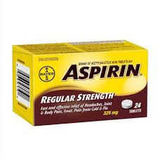 Image of Aspirin  Regular Strength Tablets 24 Pk