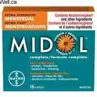 Image of Midol Extra Strength 16 Pk