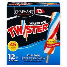 Chapmans Twister Fruit Twist 12 Pk