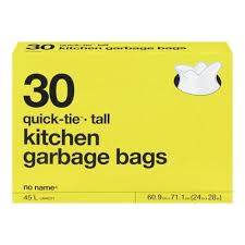 Nn Kitchen Garbage Bags 30Pk