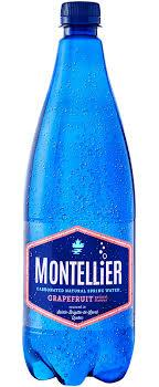 Montellier Grapefruit Carbonated Water 1L