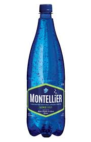 Montellier Lime Carbonated Water 1L