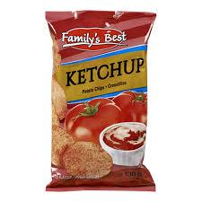 Image of Family's Best Ketchup Chips 130g