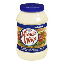 Kraft Miracle Whip 890mL