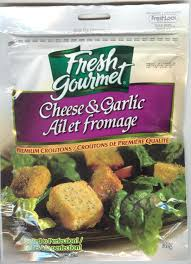 Image of Fresh Gourmet Croutons, Cheese Garlic 142g