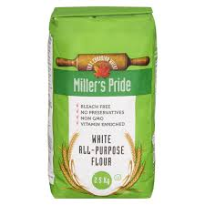 Image of Miller's Pride White All Purpose Flour 2.5 Kg