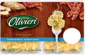 Image of Olivieri Tortellini Chicken & Bacon 2 X 225 G