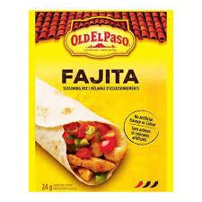 Image of Old El Paso Fajita Seasoning 24 G