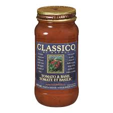 Image of Classico Tomato And Basil 650 Ml