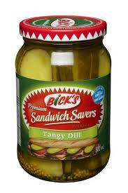 Bicks Stackers Tangy Dill Sand 500 Ml.