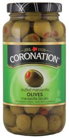 Image of Coronation Stuffed Manzanilla Olives 375 Ml.