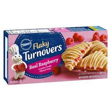 Pillsbury Raspberry Flaky Turnover 383g