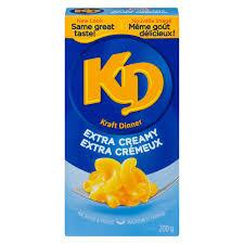 Image of Kraft Extra Creamy Mac/Cheese 200g