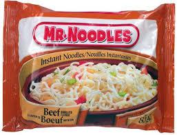 Image of Mr Noodle Instant Beef 85g