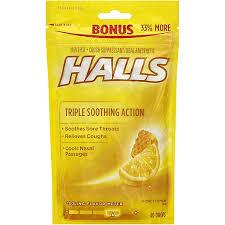Image of Halls Honey Lemon Drops 40pk