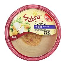 Image of Sabra Hummus, Roasted Garlic 283g