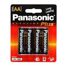 Image of Panasonic Alkaline Plus AA 4pk