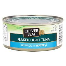 Image of Cloverleaf Flaked Light Tuna In Water 120g