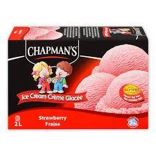 Chapmans Strawberry Ice Cream 2L