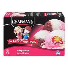 Image of Chapmans Neopolitan Ice Cream 2L