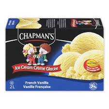 Chapmans French Vanilla Ice Cream 2 L 2L