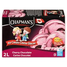 Image of Chapmans Cherry Chocolate Ice Cream 2L