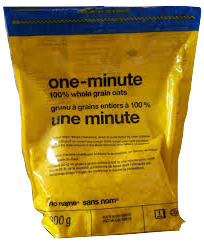 No Name One Minute Whole Grain Oats 1Kg