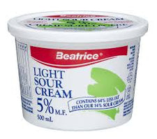 Image of Beatrice 5% Light Sour Cream 500 Ml