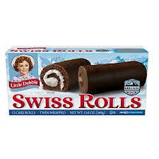 Image of Little Debbie Swiss Cake Rolls 1 Box