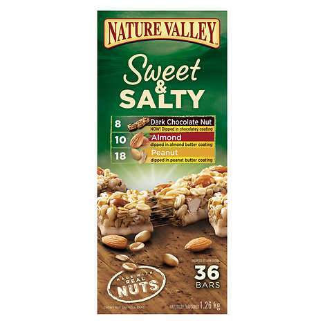 Nature Valley 36 bar Sweet and Salty 1.26kg