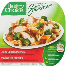 Image of Healthy Choice Gourmet Steamers Grilled Chicken Marinara Frozen Dinner 284 g