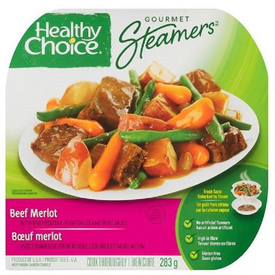Image of Healthy Choice Gourmet Steamers Beef Merlot Frozen Dinner 284 g