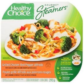 Image of Healthy Choice Gourmet Steamers Grilled Chicken Red Pepper Alfredo 284g