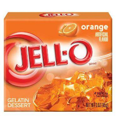 Jello Orange Jelly Powder 85Gr.