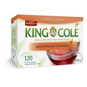 King Cole Decaf Orange Pekoe Tea 120 PK